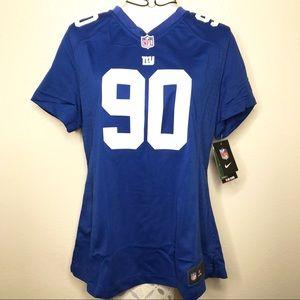 New York Giants Nike NFL ON Field Jersey #90